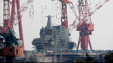 国产航母相近海域开土动工!中国又解决一世界性难题