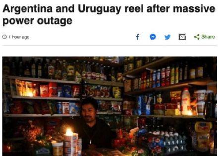 """""""站队""""美国后,这国产品滞销全国停电!现求助中国"""