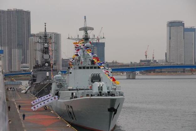 日本阅舰敲定!我们派谁去捧场?有一艘船众望所归