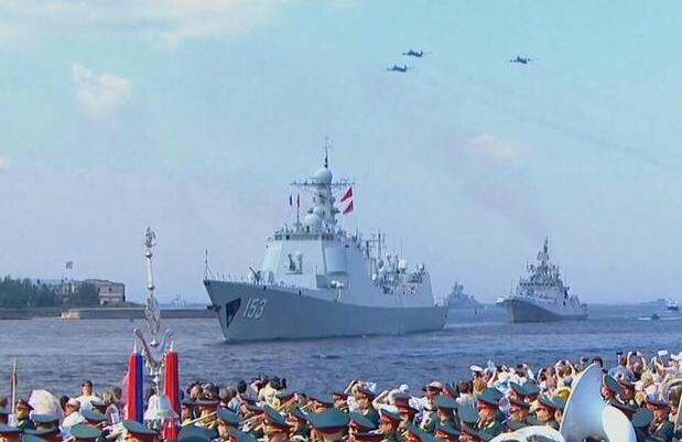中国战舰路过欧洲!德国军队:比我们战舰强一档次
