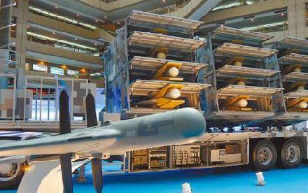 将量产104架无人机!台军:可以让辽宁舰编队瘫痪