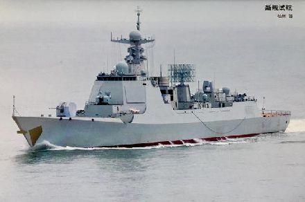 中国第21艘052D型驱逐舰下水!加长版居然已造8艘?