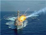 雷达锁定以战舰,反舰导弹命中剧烈爆炸,伊朗飘了