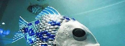 """黑科技?美潜艇又添天敌,中国放生百条""""机器鱼"""""""